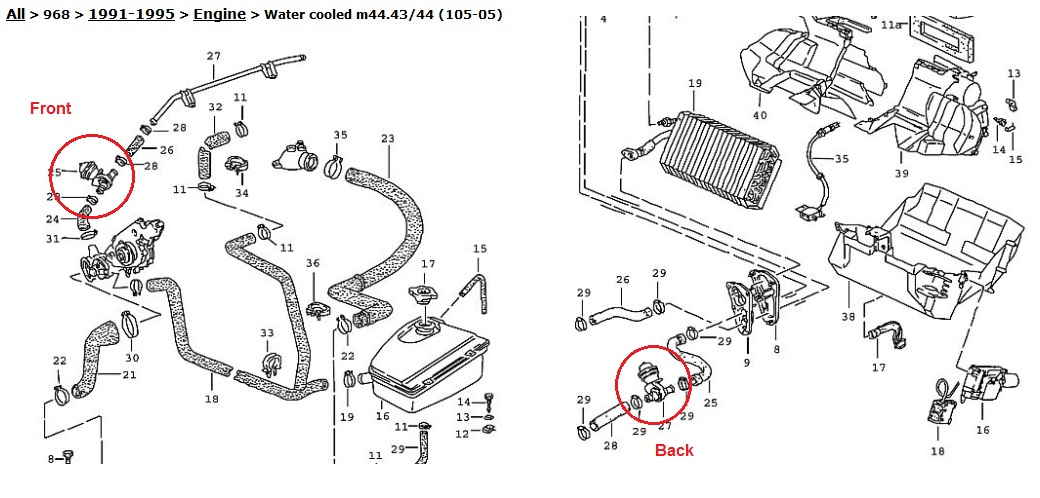 2000 porsche boxster fuse diagram
