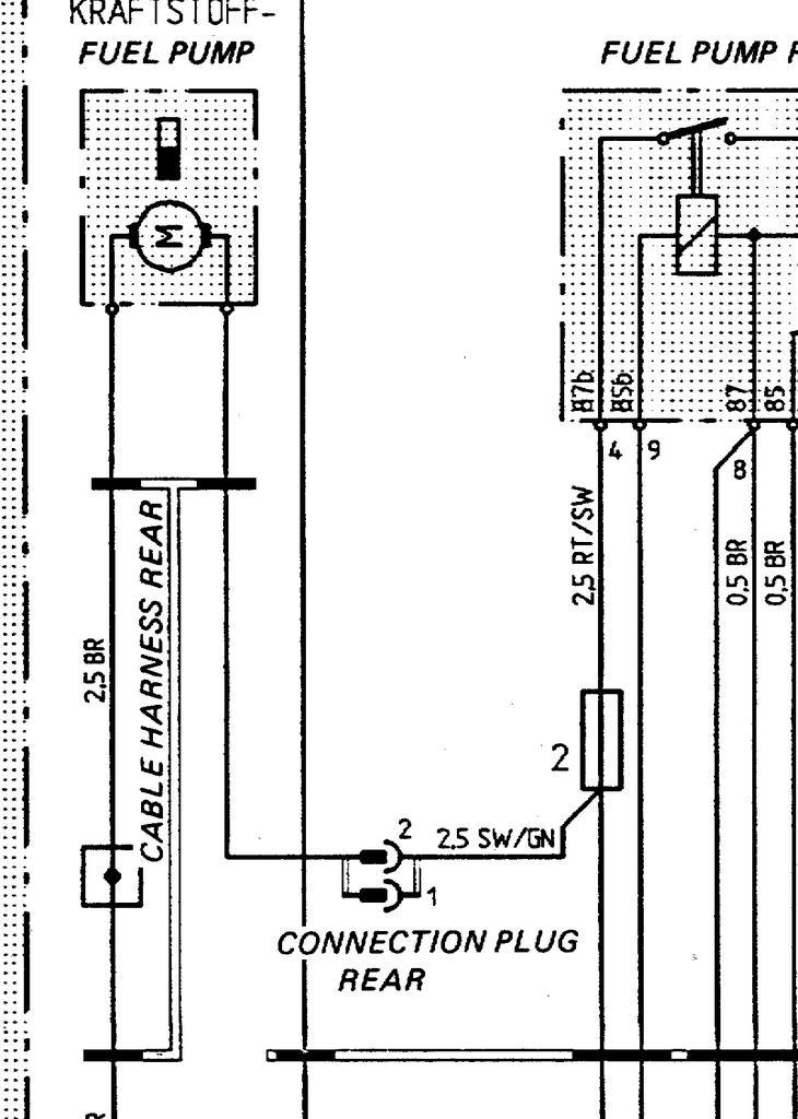 Fuel Pump wiring harness routing question - Rennlist - Porsche