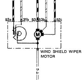 bosch wiper bedradings schema