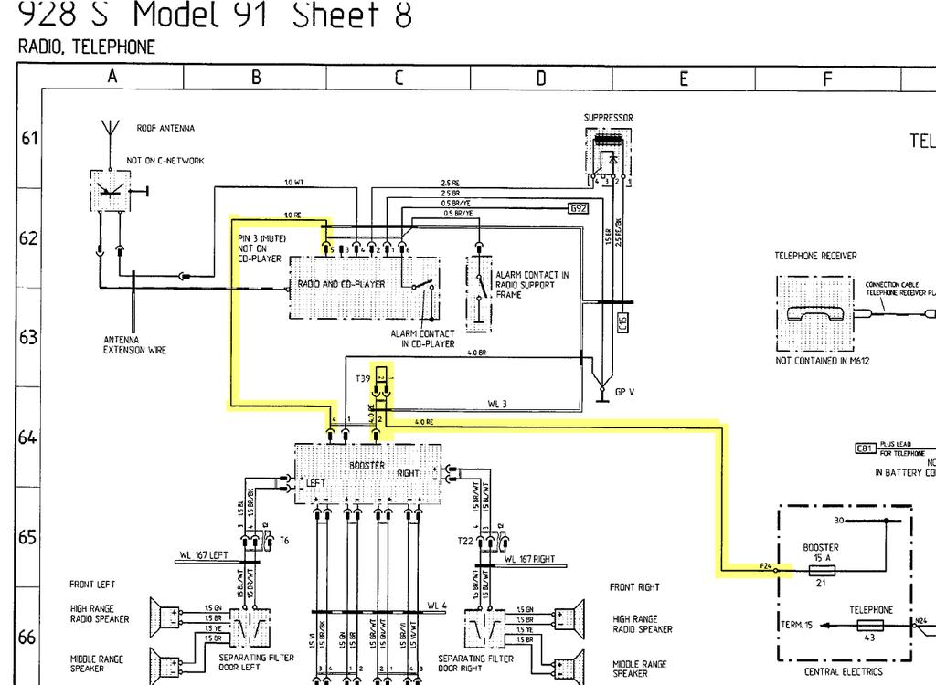 porsche 944 workshop wiring diagram