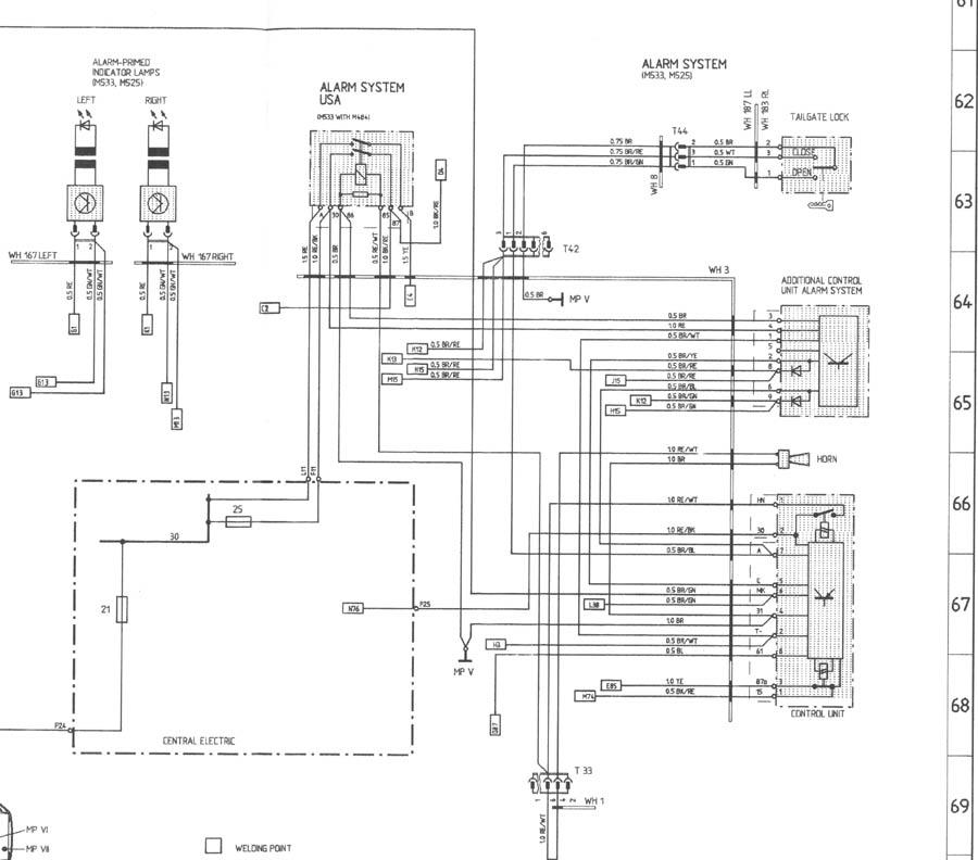 porsche 996 alarm wiring diagram