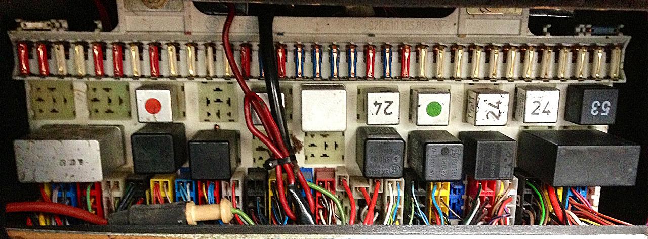 1978 Porsche 928 Fuse Box Wiring Diagram