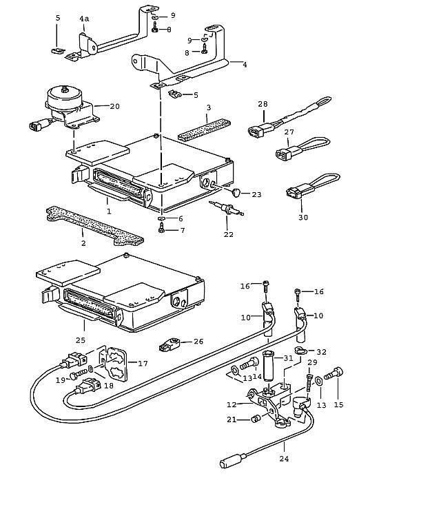 porsche 944 fuse box problems