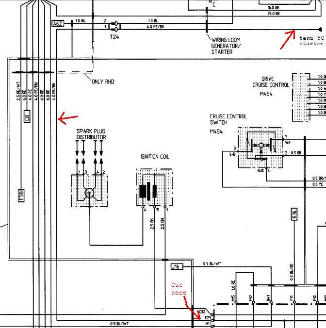 Tutorial Replacing starter solenoid wire from CE panel - Rennlist