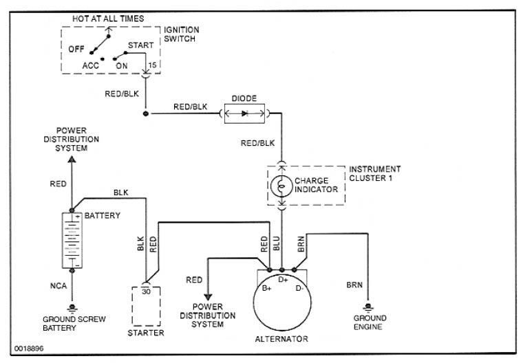 Porsche 964 Alternator Wiring Electrical Circuit Electrical Wiring