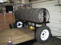 Adding a tire rack to a flat steel trailer - Rennlist ...