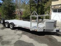 FS: 2010 Aluma open trailer with tire rack - Rennlist ...