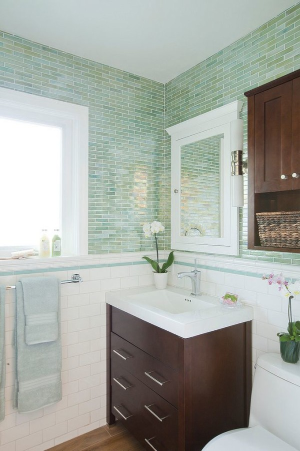 Subway Tile With Dark Grout Chair Rail Molding Ideas For The Bathroom | Renocompare