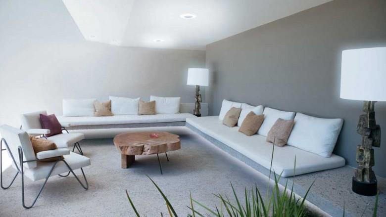 Deco Salon Bleu Et Blanc | Tableau Design Vitesse - Izoa