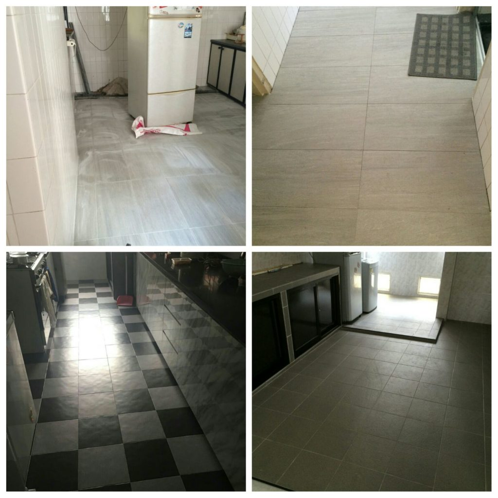 Kitchen Floor Tiles Pictures Kitchen Wall Floor Tiling Renovationcontractor Sg