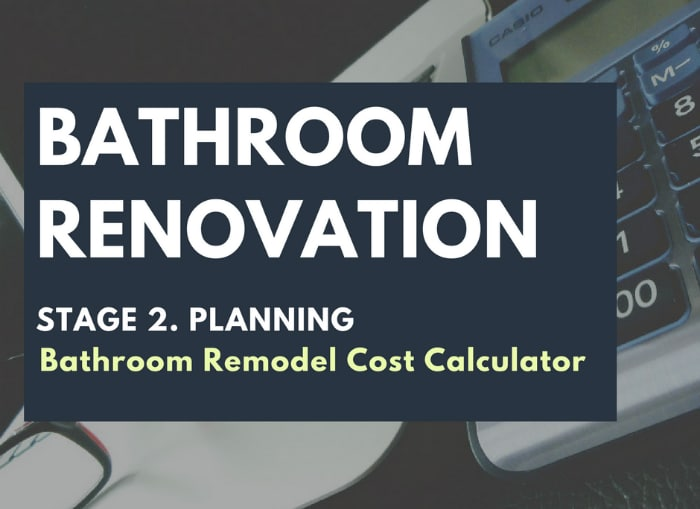Bathroom Remodel Cost Calculator Renovation Junkies