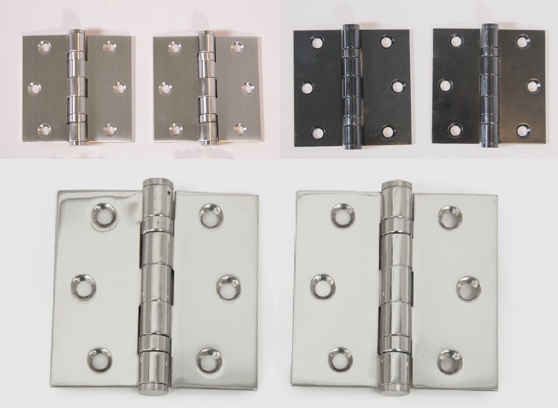 Ball Bearing Door Hinge Square Cut Out 2 Pack In Various Sizes 3 3 1 2 4 Toronto Door Hardware Door Levers And Door Handles