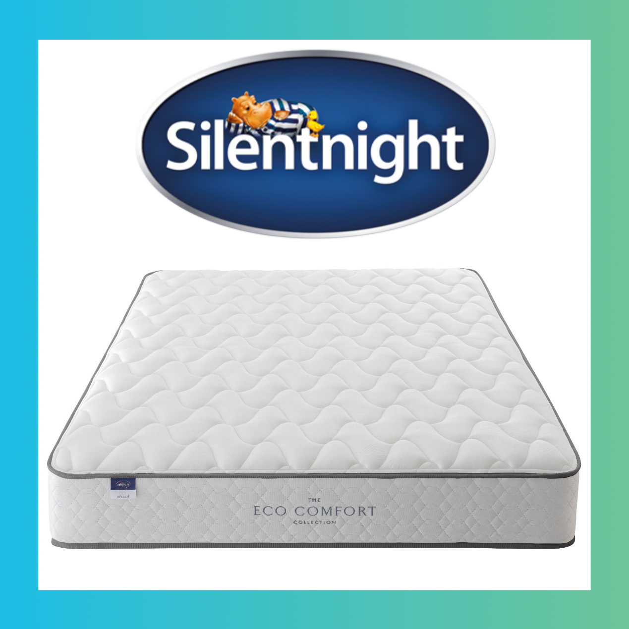 Silent Night Miracoil 3 Pillow Top Mattress Silent Night 4 6 Mattress Eco Collection Rent2buy