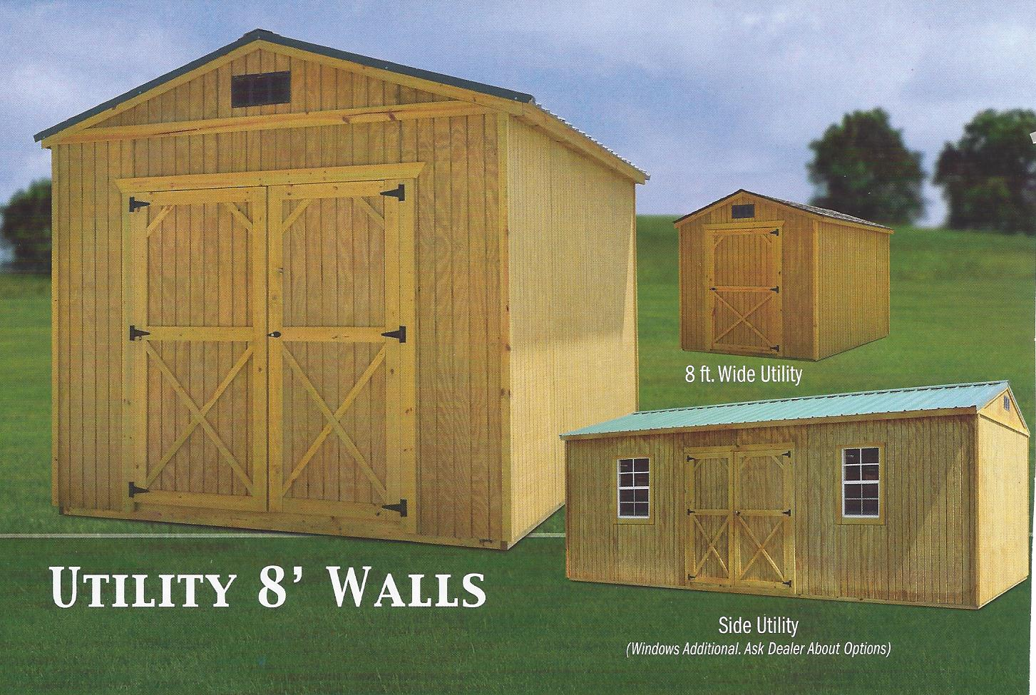 Rent To Own Storage Buildings Sheds Garages Carports Barns