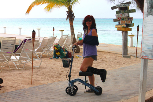 Best Knee Stroller Traveling With A Knee Scooter