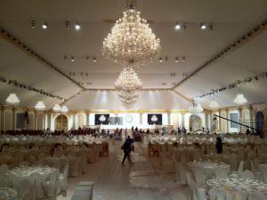 Mariage royal au Qatar.