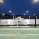 Bleachers for Tennis