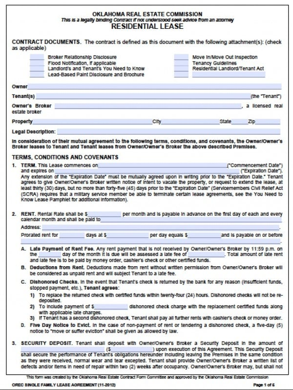 Sample Commercial Truck Lease Agreement - 6+ Documents In Word - blank lease agreements