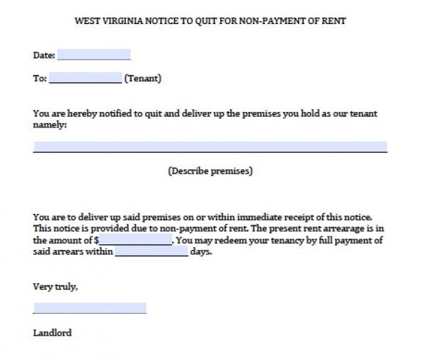 Landlord Eviction Notice Template10 Eviction Notice Template - landlord eviction notice letter