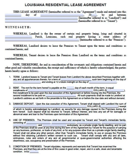 Residential Lease Agreements Colbro