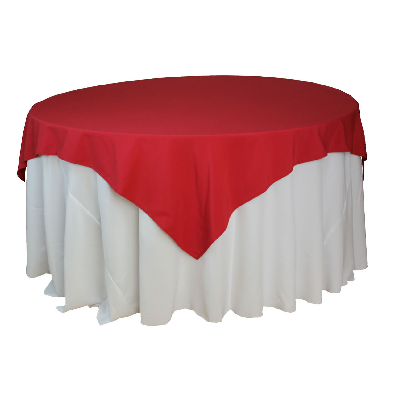 Square Tablecloth 72 Quot X 72 Quot Square Overlay Tablecloth
