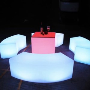 LED Lounge furniture for rent