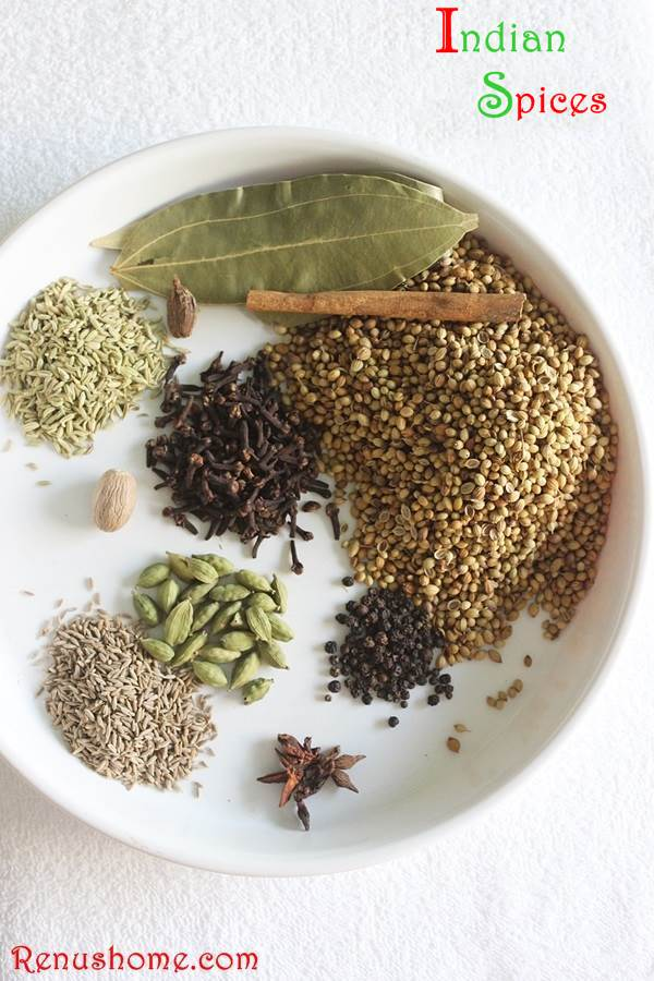 Indian spices - glossary of Indian spices in english ...
