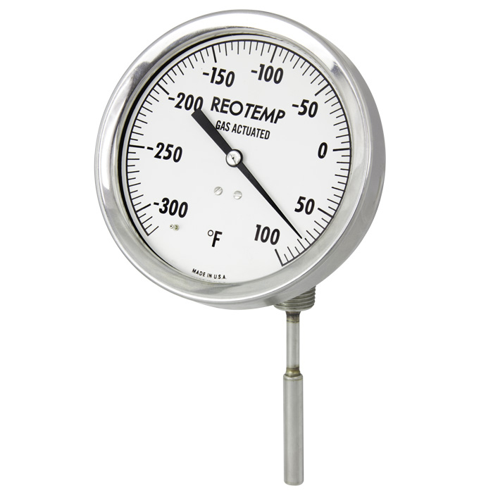 Compact Brewing System Standard Gas Actuated Thermometers Reotemp Instruments