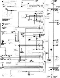 1987 gmc ledningsdiagram