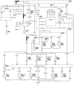 ford pinto starter motor wiring diagram