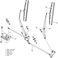cavalier windshield wipers motor diagram
