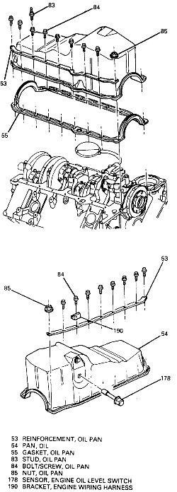 Repair Guides Engine Mechanical Oil Pan AutoZone