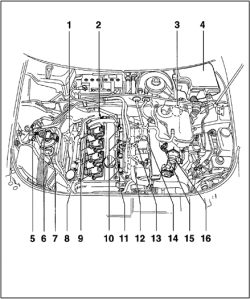 2013 volkswagen passat engine diagram