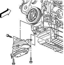 chevy engine oil diagram