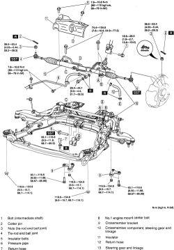 power steering wiring diagram