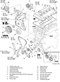engine diagram for 2008 mazda 6 2 3