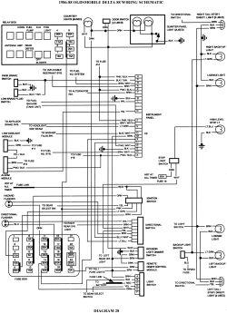 wiring diagram 1988 oldsmobile 88