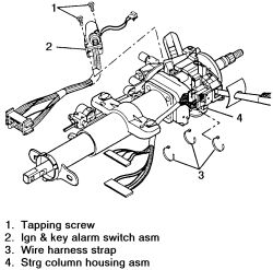 s10 steering column wiring diagram