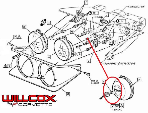1968 camaro headlamp wiring diagram