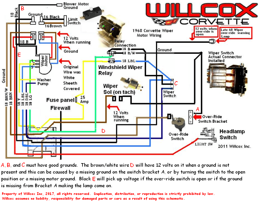 honda wiper switch wiring diagram