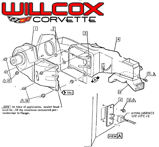 where is the heater blower motor relay located on my 1991