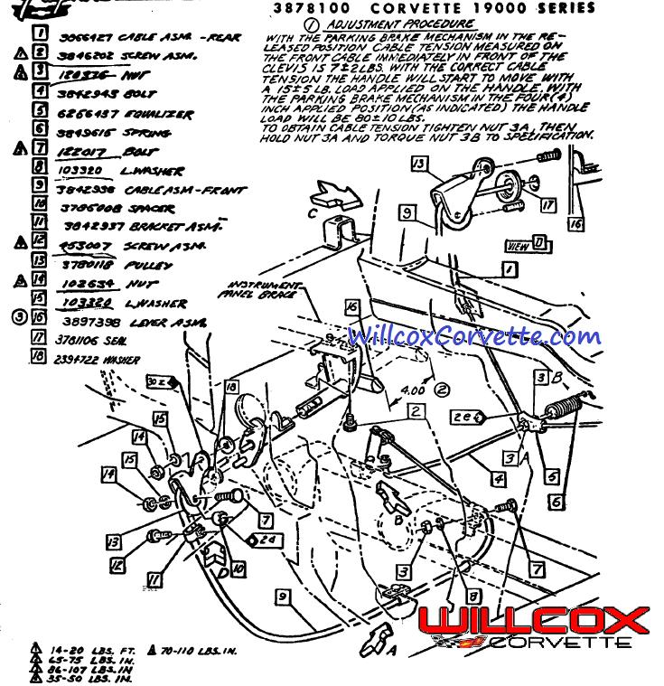 c3 corvette horn wiring diagram