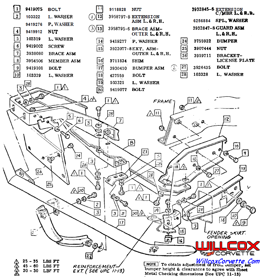 1965 corvette stingray wiring diagram