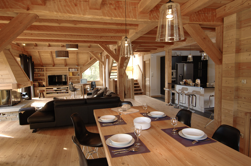 Table Bar De Jardin Chalets Prestiges | Les Choses Que J'aime