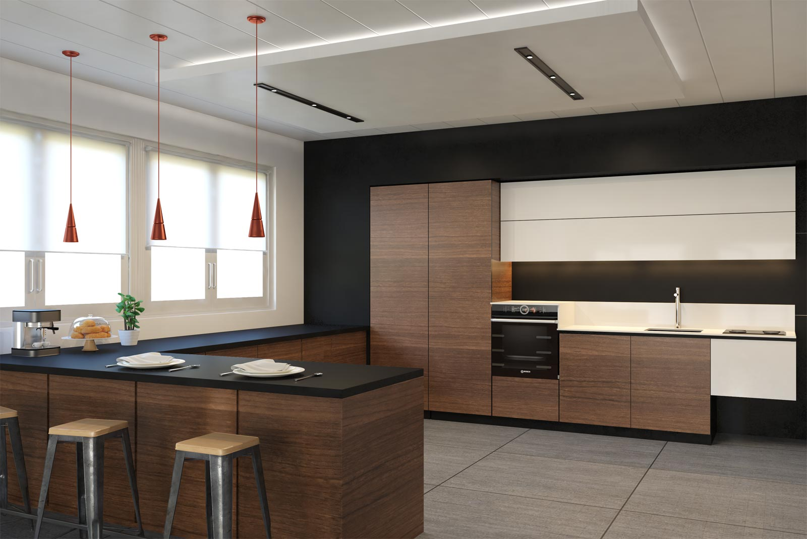 Cucina Moderna White Replace Design Modern Kitchen Furnishing On The Move