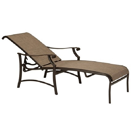 Tropitone South Beach Sling Chaise Tropitone Replacement Cushions - Montreux Ii Sling Collection