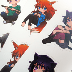 Stickers printed