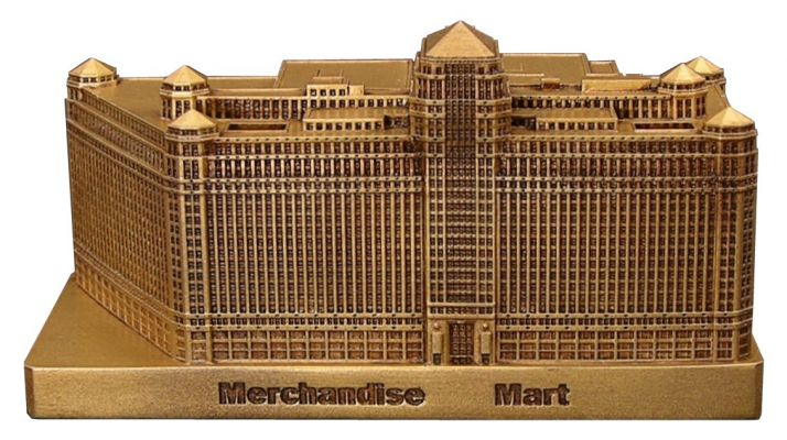 Los Angeles Architects Replica Buildings - Infocustech Merchandise Mart 150