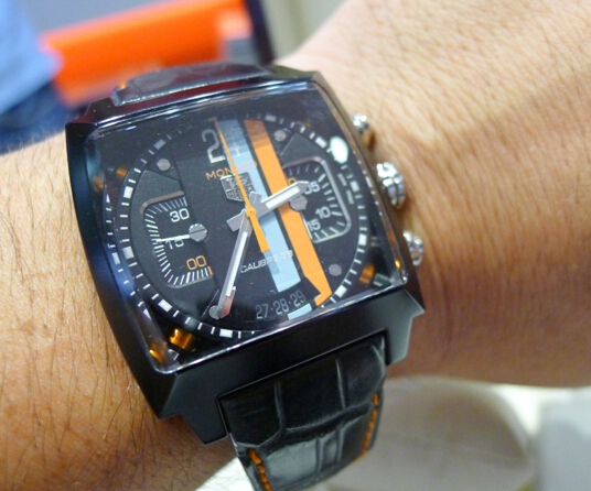 Home Office Ingenieur Tag Heuer Monaco Gulf Replica