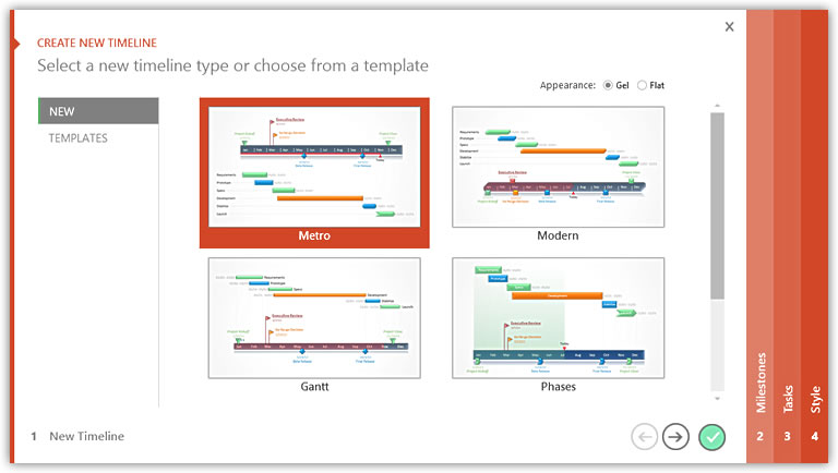 Office Timeline Free Edition 3620